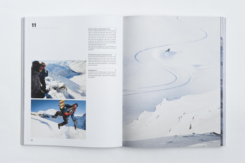 die Fotografien und ihre Beschreibungen erzählen Geschichten aus den Bergen