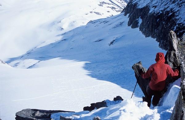 …auf Gipfel klettern und wieder runter (zum Rorspitzli, 2007)…