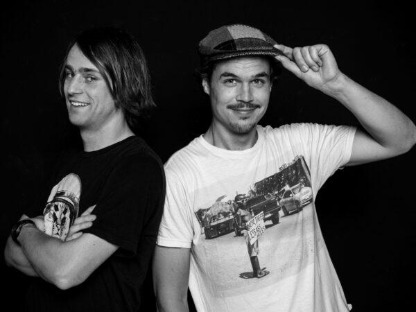 …gehen auch heute noch zusammen shredden (Markus und Nicolas)
