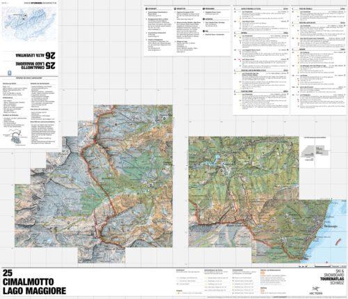Lago Maggiore Karte.Cimalmotto Lago Maggiore