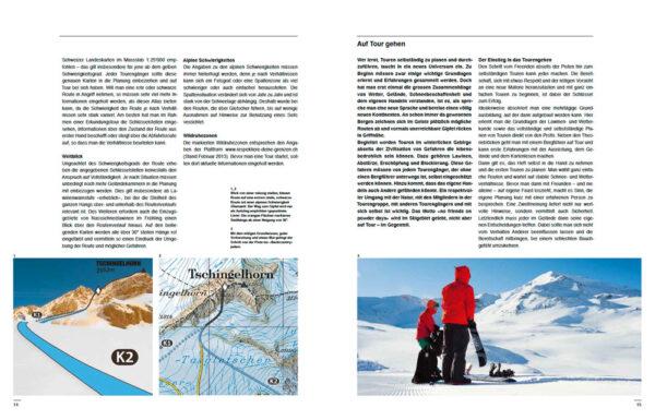Ski und Splitboard Tourenatlas Schweiz Leseprobe
